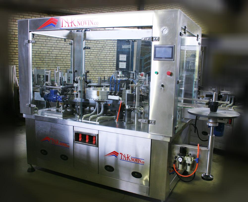 دستگاه لیبل زن OPP ساخت شرکت تک نوین